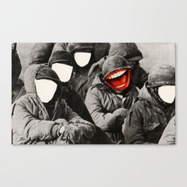War face Canvas Print