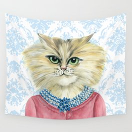 Vernonica Dressed for Luncheon Wall Tapestry