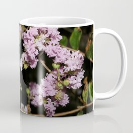 Pink Flowers blooming at night Coffee Mug