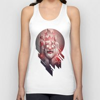 cocaine Tank Tops featuring King of Doom by Dr. Lukas Brezak