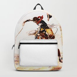 A Bad Hoss Backpack