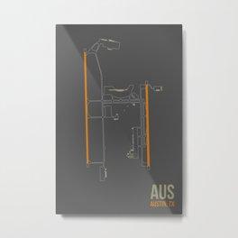AUS Metal Print