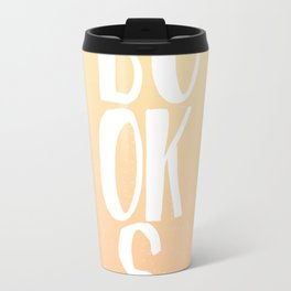 Books (Sunset colors) Travel Mug