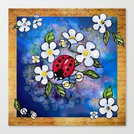 Ladybugs_1 Canvas Print