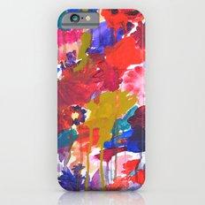 Floral Drip iPhone 6s Slim Case