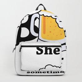 She Said Beer Or Me Backpack