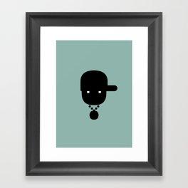 rapper Framed Art Print