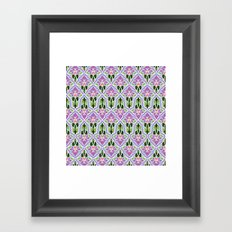 Lotus Flower Framed Art Print