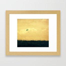 Soft Landing Framed Art Print
