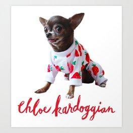 Chloe Kardoggian Tote Bag Art Print