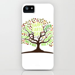Happy Earth Day iPhone Case