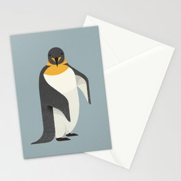 Whimsy Emperor Penguin Stationery Cards