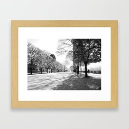 Jardin des Tuileries Framed Art Print