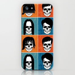 Hairstyles for Skulls iPhone Case