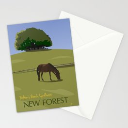 Bolton's Bench, Lyndhurst, New Forest Stationery Cards