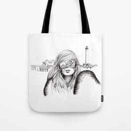 Biarritz Tote Bag