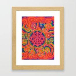 Meditative State Framed Art Print