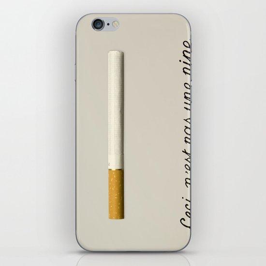 it's a fucking cigarette! iPhone & iPod Skin