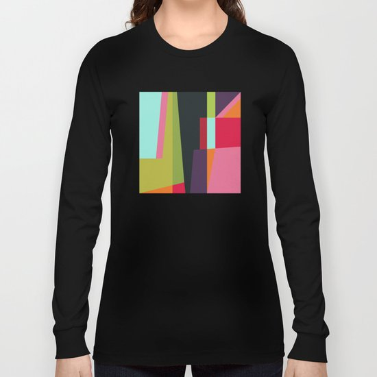 Geometric#28 Long Sleeve T-shirt