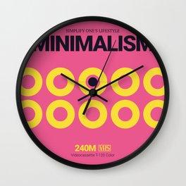 MINIMALISM #10 Wall Clock