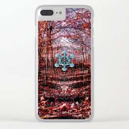 Sacred Encounter Clear iPhone Case