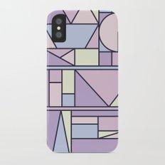Kaku Pastel iPhone X Slim Case