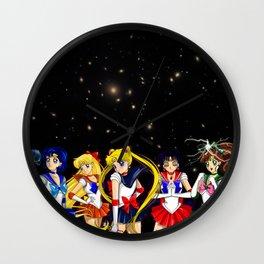 Sailor Guardians Wall Clock