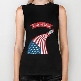 Patriot Day - September 11 - Send the best Wish to those who suffered Biker Tank