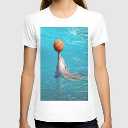 Dolphin and Ball T-shirt