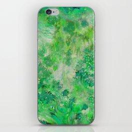 Peacefull Green iPhone Skin