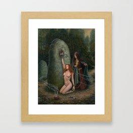 In Danann's Grove Framed Art Print