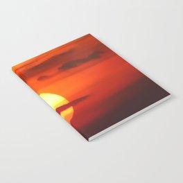 Sunset at Devil's Dyke (UK) Notebook