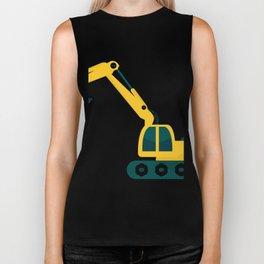 excavator Biker Tank