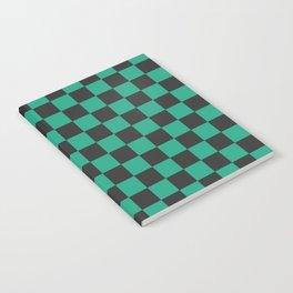 Tanjiro Pattern Notebook