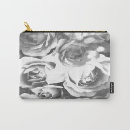 Roses In Black And White #decor #society6 #buyart #homedecor Carry-All Pouch