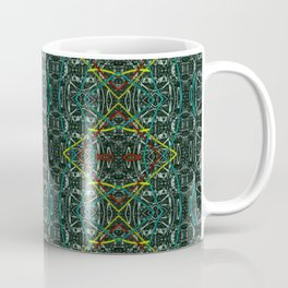 Abstract diamonds Coffee Mug