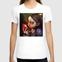 sister T-shirts featuring Little Sister by Vincent Vernacatola