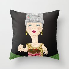 Let them eat cake Throw Pillow