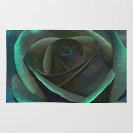 Northern Lights Rose Rug