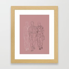 The three musketeers #1 Framed Art Print