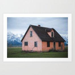 Alone in Yellowstone Art Print