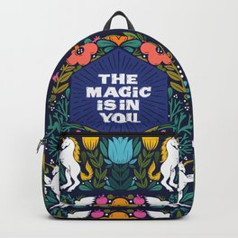 the magic is in you Backpack