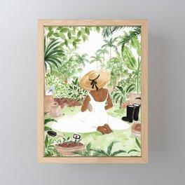 Gardener III Framed Mini Art Print