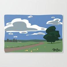 Vector Scenic Canvas Print