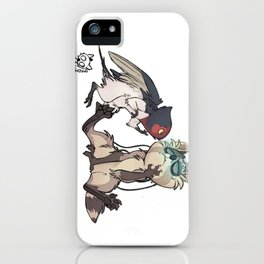 Anlie and Psychoon iPhone Case