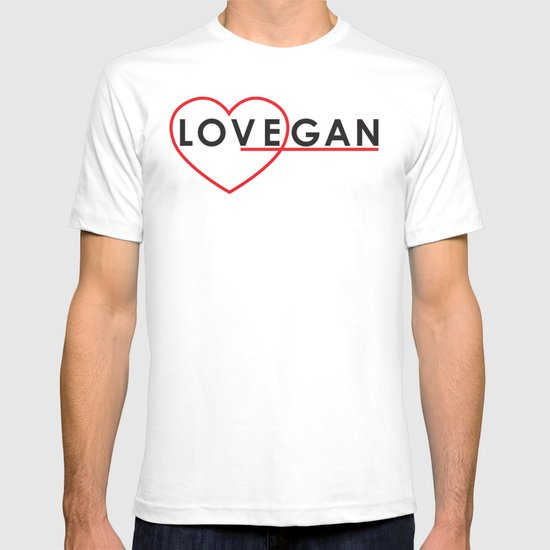 LOVEGAN (Love Vegan) T-shirt