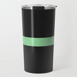 Simple Division - Matt Green On Urban Concrete Geometric Urban Pop Art Travel Mug