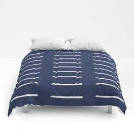 Organic / Navy Comforters