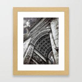 Arc de Triomphe | Paris [Sky cut 428]  Framed Art Print