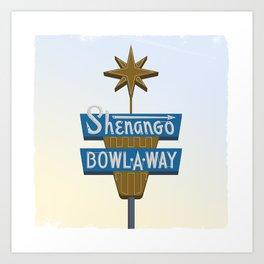 Shenango Bowling Art Print